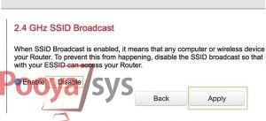 چگونه میتوان SSID خود را مخفی کنیم