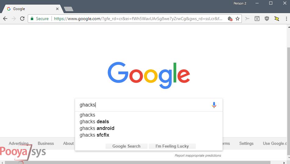 جستجوی آنی گوگل بهطور کامل غیر فعال شد