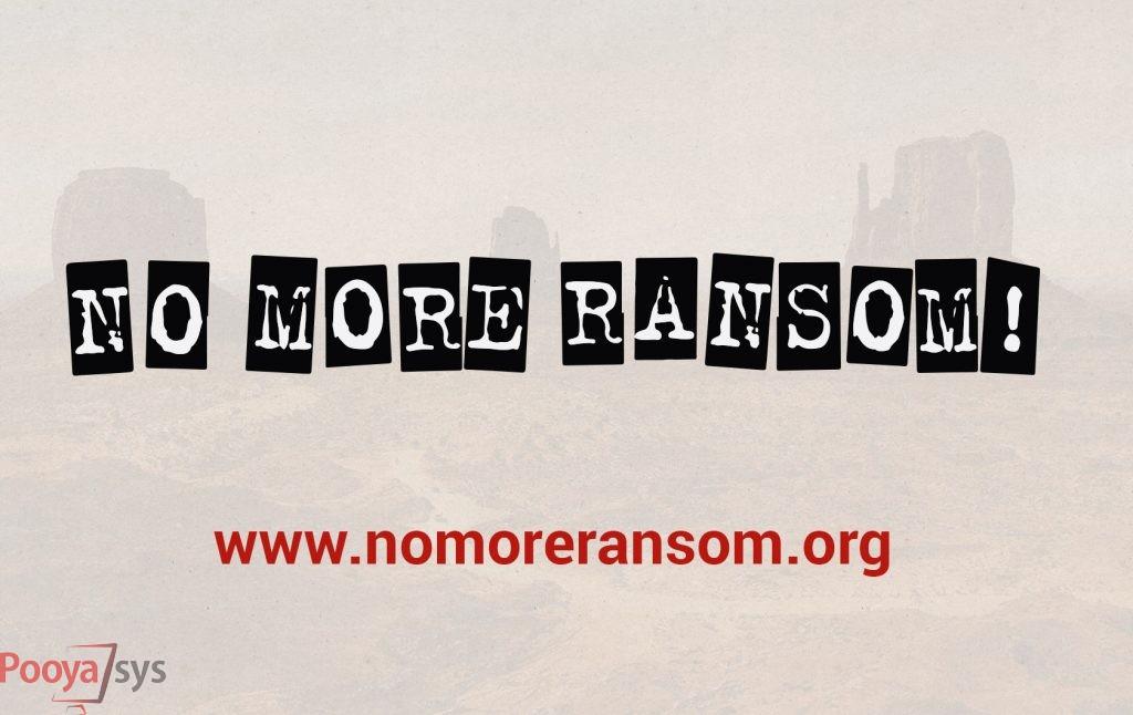 کمک فراگیر پروژهی NoMoreRansom به هزاران قربانی باج افزار