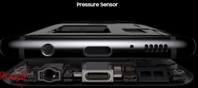 گلکسی نوت ۸ با نمایشگر حساس به فشار عرضه میشود
