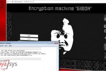 پیدایش یک باجافزار جدید با نام GIBON