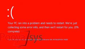 صفحه قرمز مرگ ویندوز