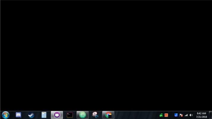 چرا صفحه دسکتاپ سیاه می شود؟