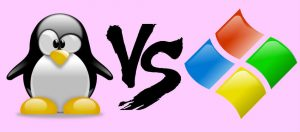 تفاوت ویندوز و لینوکس