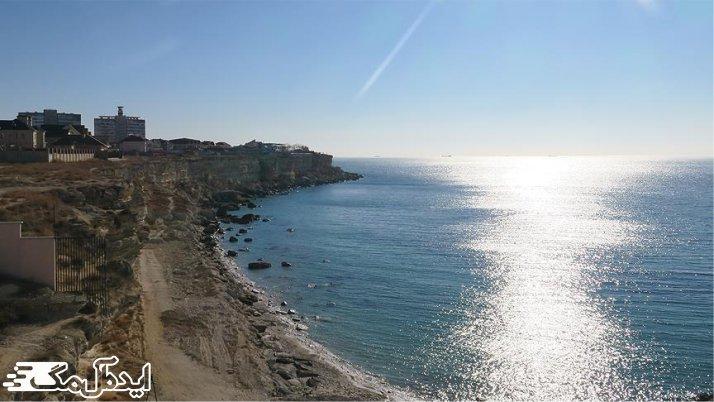 دریای خزر نمونه یک دریای محصور