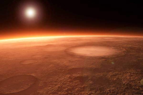 مریخ سرخ است ؟