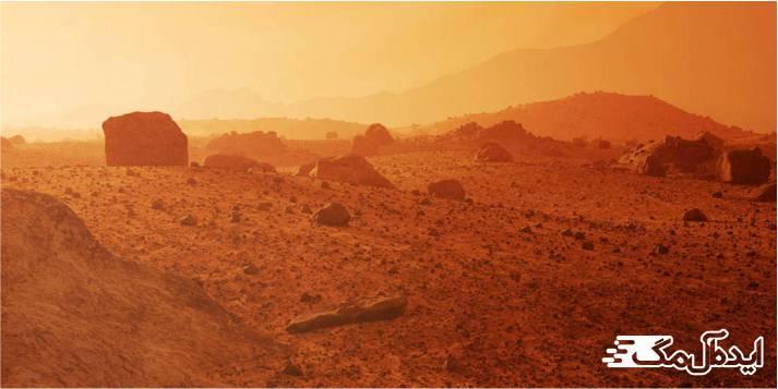 چرا مریخ سرخ رنگ است ؟