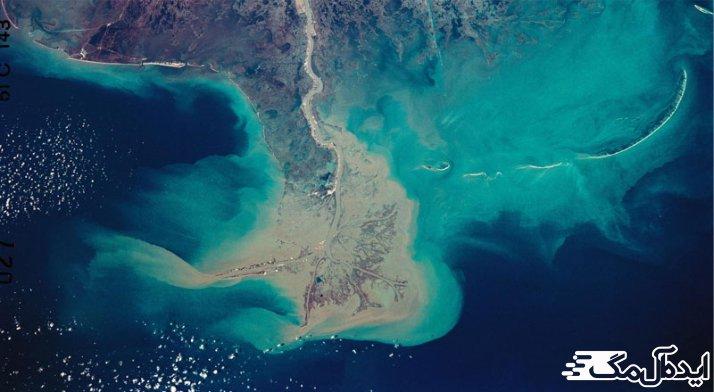 تفاوت دریا و خلیج