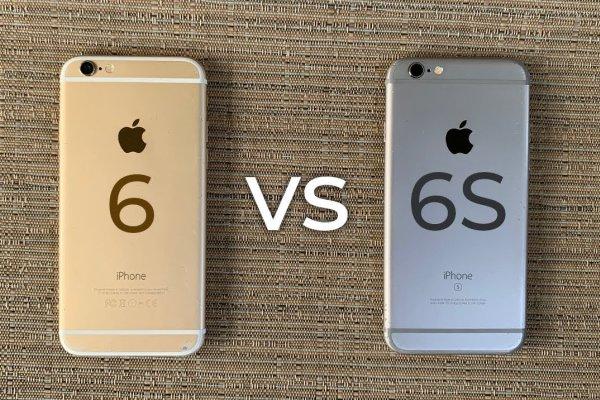 مقایسه آیفون 6 با آیفون 6s