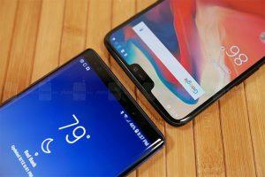 OnePlus 6 و Samsung Galaxy Note9