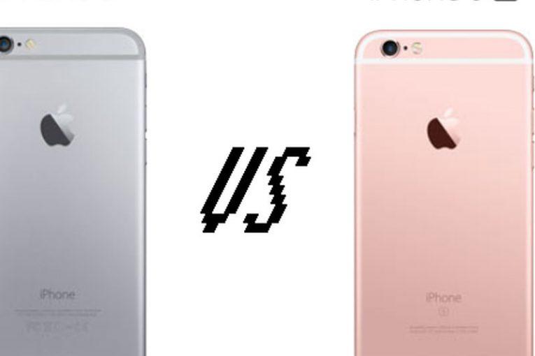 مقایسه آیفون 6 و 6S
