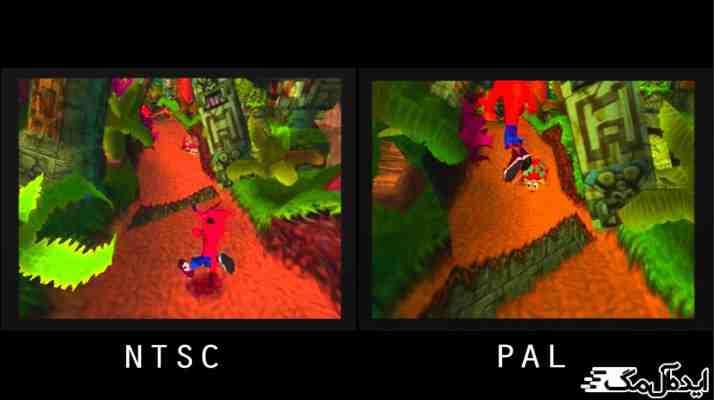 تفاوت NTSC و PAL