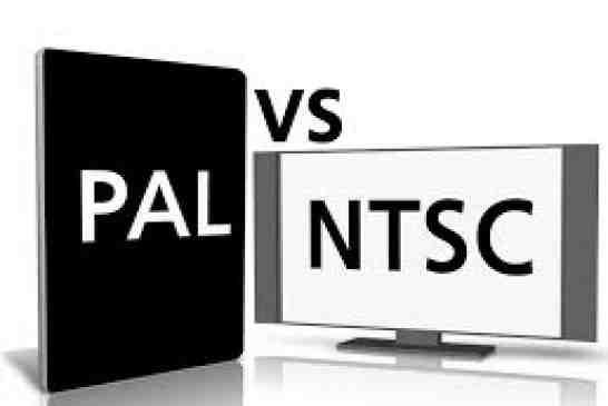 تفاوت دو فرمت PAL و  NTSC در تصاویر رنگی چیست؟