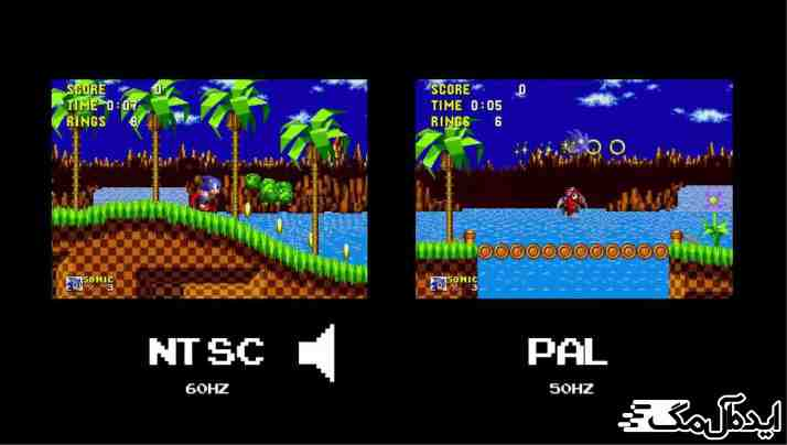 NTSC vs PAL