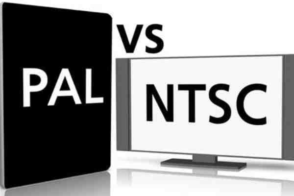 تفاوت PAL و NTSC