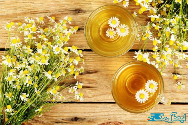 چای بابونه و تاثیر آن بر گلو درد