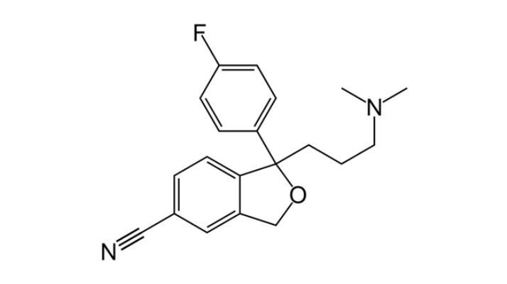 فرمول سیتالوپرام