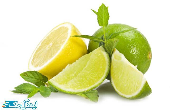 لیمو برای سفید کردن دندان ها