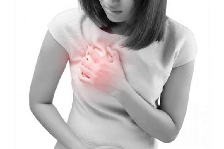 درد سینه در بارداری