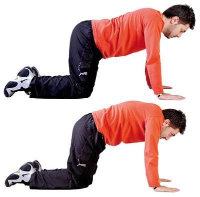 نرمشهای ساده برای بهبود کمر درد
