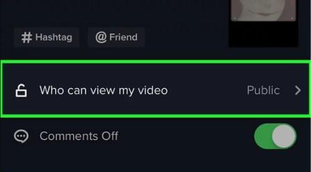 انتخاب کسانی که می توانند ویدئوی من را مشاهده کنند