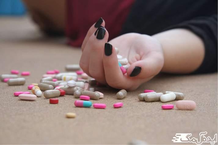 افکار خودکشی یا مرگ