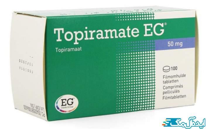 قرص Topiramate