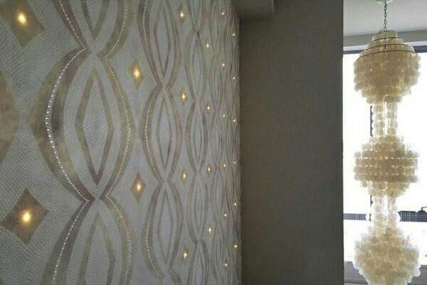 کاغذ دیواری نورانی