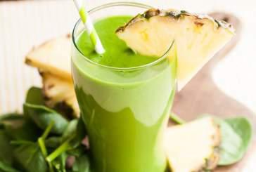 طرز تهیه ۳ اسموتی سبز رژیمی و سرشار از آهن برای سلامتی بدن