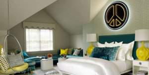 اتاق خواب دخترانه