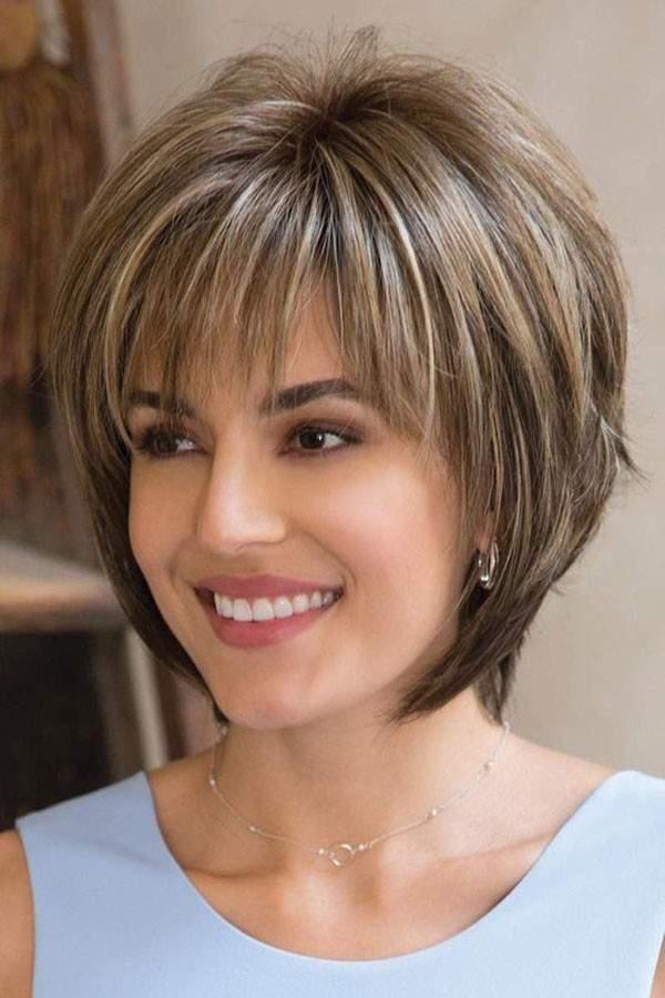 مدل موی کوتاه چتری