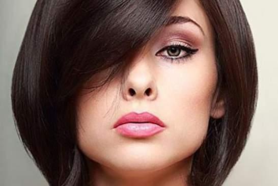 مدل موی کوتاه دخترانه و زنانه برای صورت های گرد و کشیده