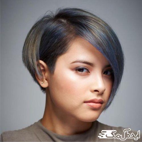 مدل موی کوتاه فشن دخترانه مدل 1