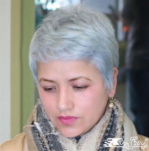 مدل موی فشن برای لاغر نشان دادن صورت