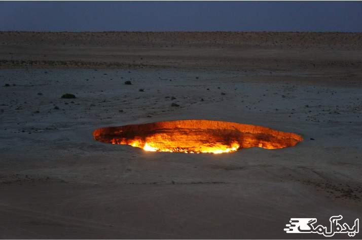 دروزاه جهنم در ترکمنستان