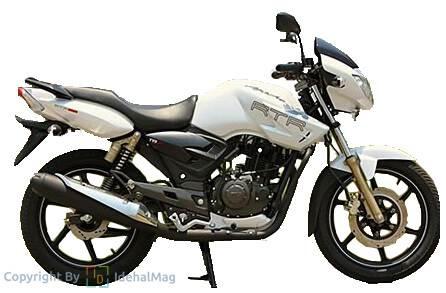 قیمت موتورسیکلت آپاچی 160