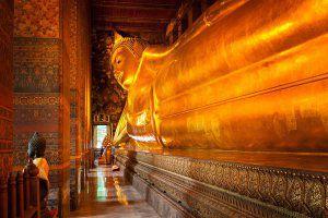 Wat pho یا معبد بودای لمیده