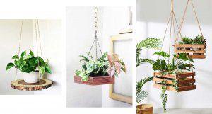 چوب و گیاه در تزیین اتاق خواب