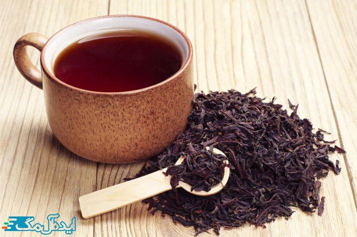چای سیاه برای درمان ورم پلک چشم