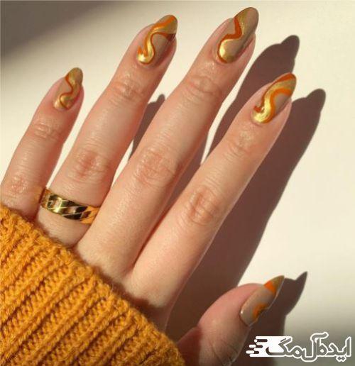 از طرحهای طلایی برای زیبایی بیشتر استفاده کنید