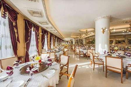 رستوران ضیافت هتل قصر طلائی مشهد