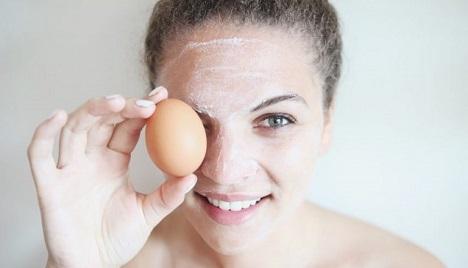 ماسک کلاژن ساز سفیده تخممرغ