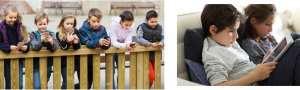 تاثیر تلفن همراه در کودکان