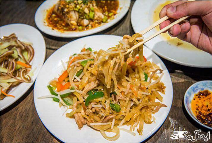 غذای شمال چین
