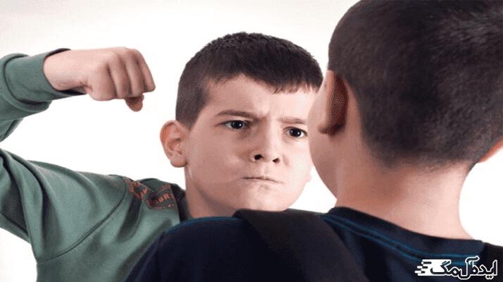 علت پرخاشگری کودکان