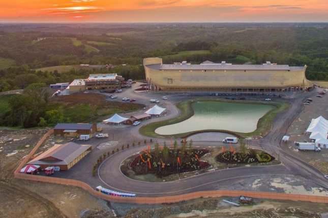 ساخت کشتی نوح با ابعاد واقعی در کنتاکی آمریکا