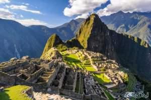 ویرانه های ماچوپیچو در پرو