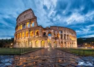 کولوسئوم رم در کشور ایتالیا