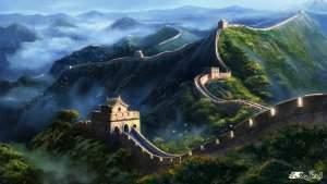 دیوار بزرگ چین عجایب هفتگانه اصلی جهان