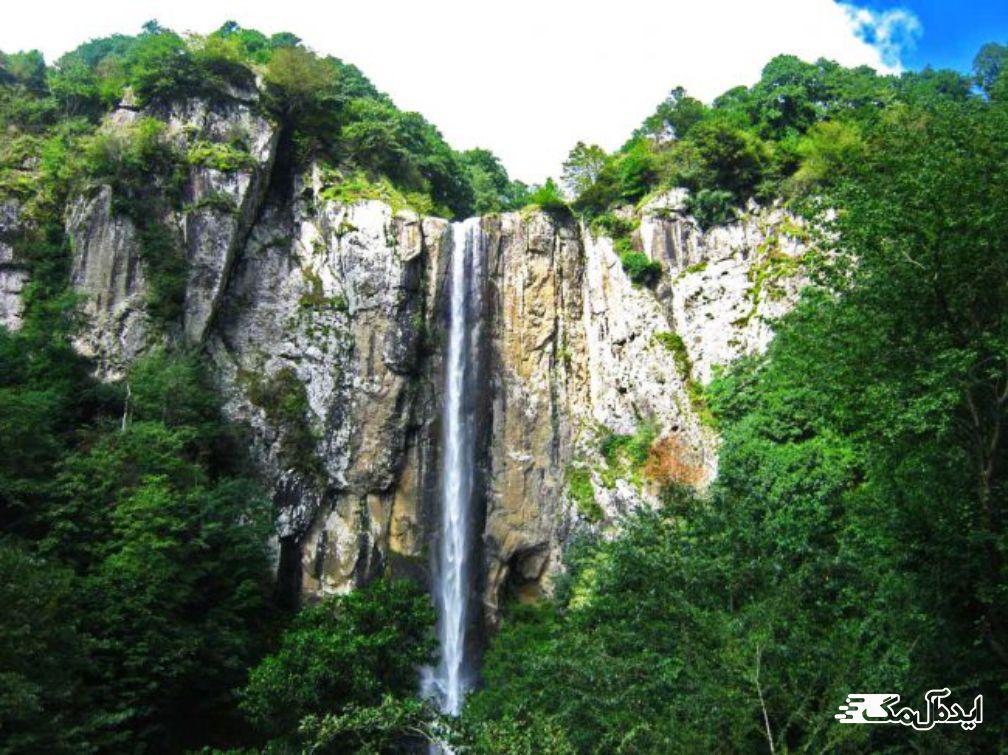 نمین اردبیل | آبشار شورشورنه